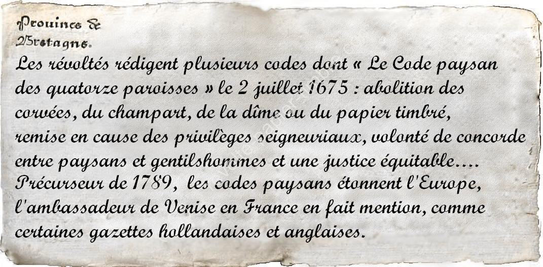 code paysan